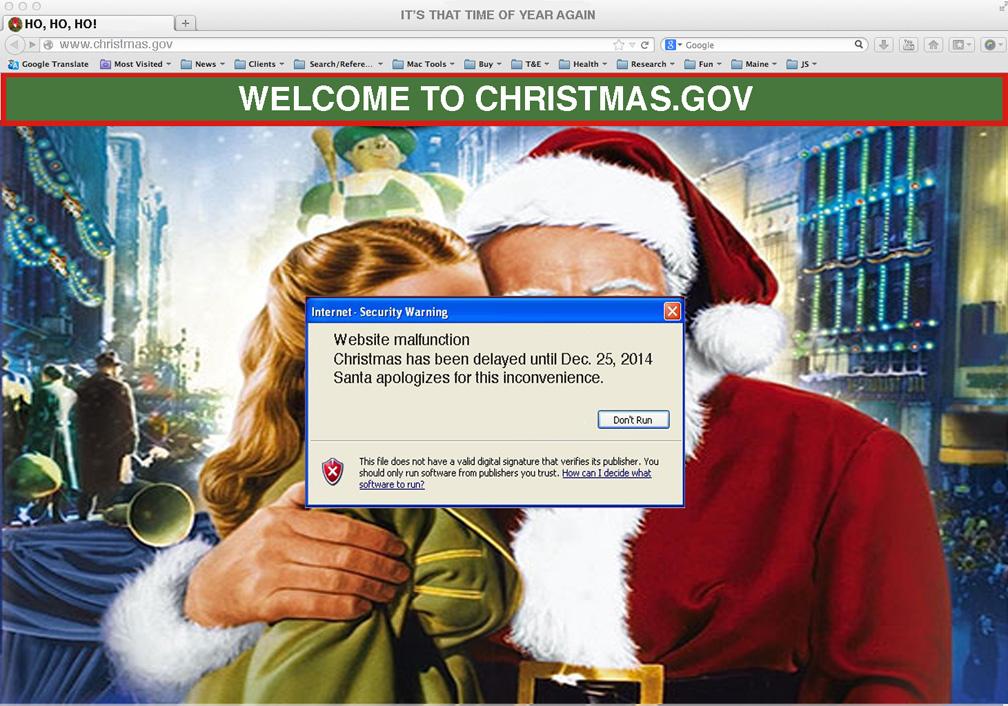 ChristmasGov