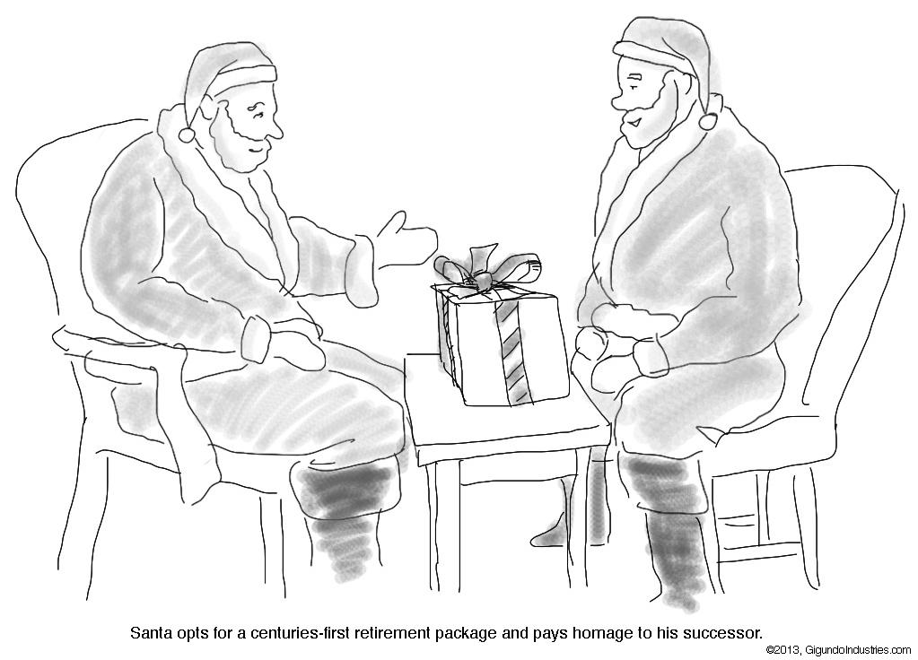 Dual Santas